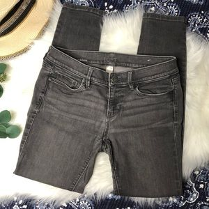 (LOFT) Gray Modern Skinny Jeans